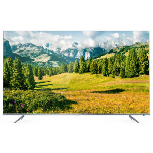 Телевизор TCL L65P6US 4K Ultra HD сверхтонкий серебристый в Высоком фото
